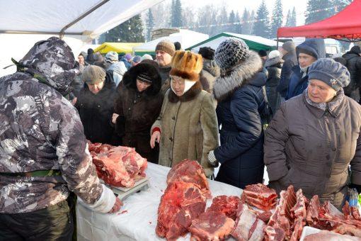 На предноговодней ярмарке продали почти 30 тонн мяса