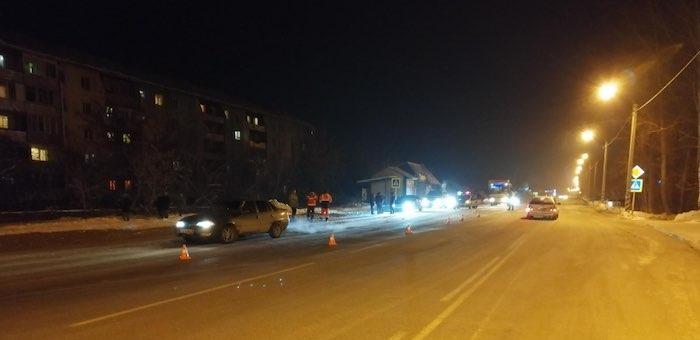 В Майме Daewoo Nexia сбила пешехода