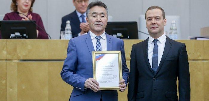 Иван Белеков получил благодарность федерального правительства