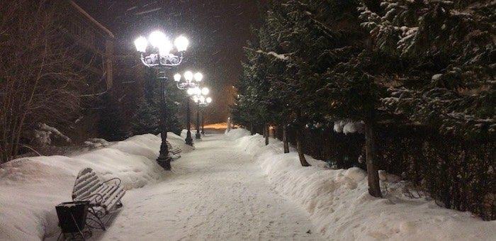 Небольшой снег и метели ожидаются на Алтае в выходные