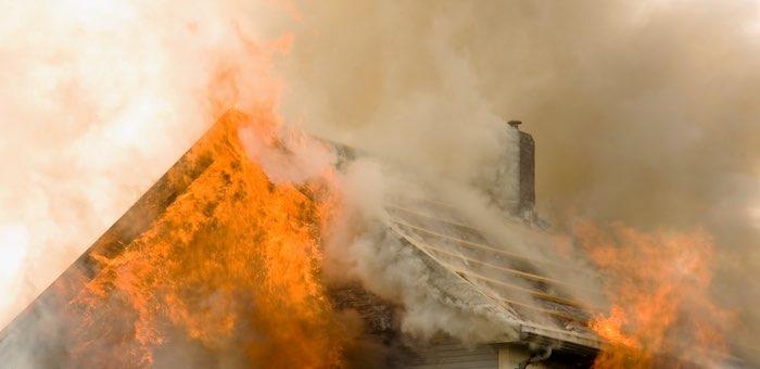 В Чибите сгорела крыша детского сада