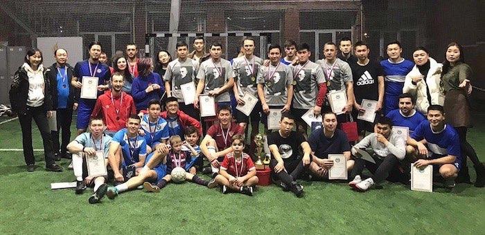 Турнир по мини-футболу на кубок алтайского землячества состоялся в Москве