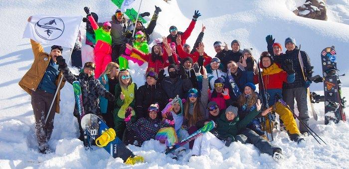 Новосибирцы заметили горнолыжный туризм на Алтае