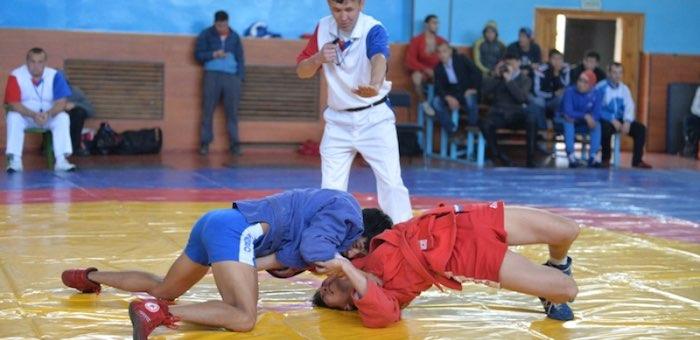 Республиканский турнир по самбо прошел в Горно-Алтайске