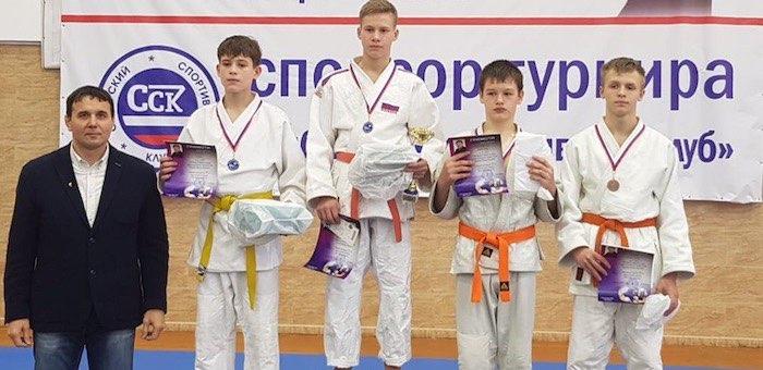 Горно-алтайский школьник завоевал серебро на турнире по дзюдо в Красноярске