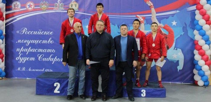 Спортсмены из Республики Алтай успешно выступили на чемпионате Сибири по самбо