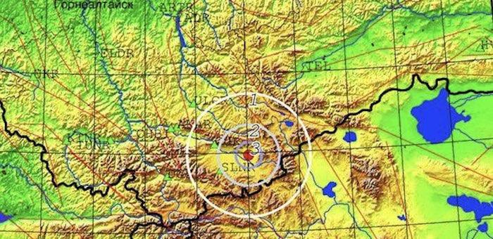 Возле Кош-Агача опять произошло землетрясение