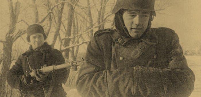 Заметил разбегающихся фашистов и взял их в плен