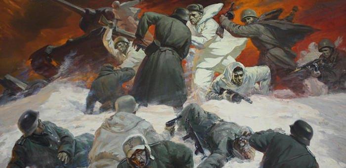 В рукопашной схватке уничтожил 11 нацистов
