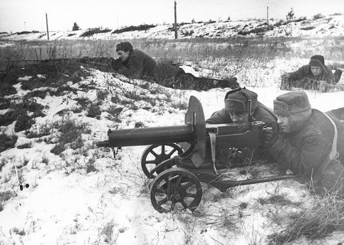 Подвиг пулеметчика Курумчина