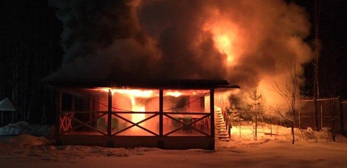 В популярном у российских артистов центре лечебного голодания сгорела баня