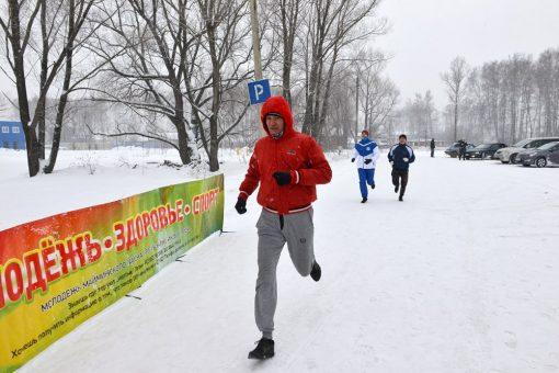 В Майме прошла «Здоровая пробежка»