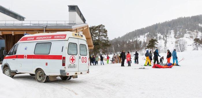 Более тысячи вызовов приняли сотрудники «скорой» в новогодние праздники