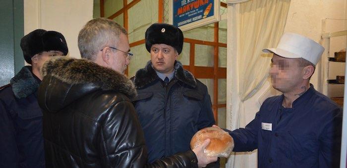 Уполномоченный по правам человека посетил колонию с инспекцией