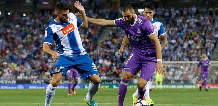 «Реал Мадрид» в гостях обыграл «Эспаньол»