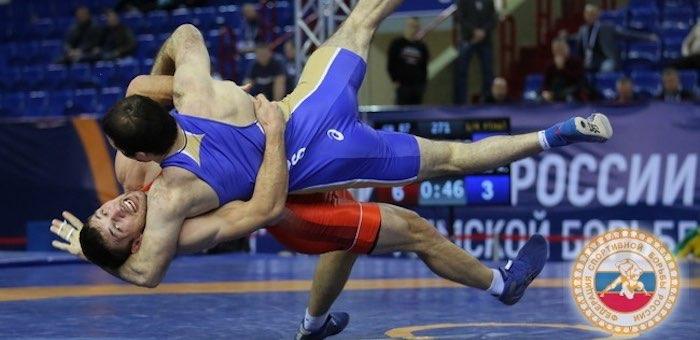 Алексей Тадыкин стал серебряным призером чемпионата России по греко-римской борьбе