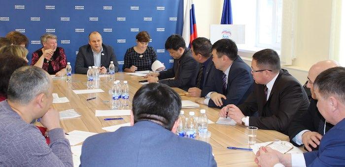 Партпроект «Городская среда» охватит райцентры Республики Алтай