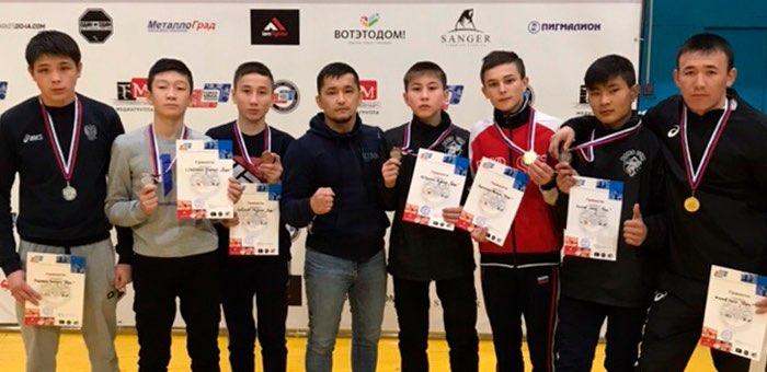 Бойцы клуба «Барс» успешно выступили в Барнауле