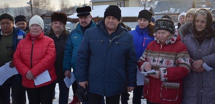 В Горно-Алтайске прошли сходы граждан по вопросам газоснабжения