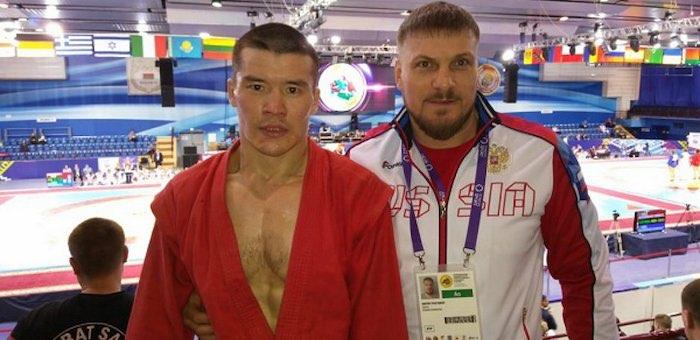 Уроженец Балыкчи стал победителем открытого чемпионата Белоруссии по боевому самбо