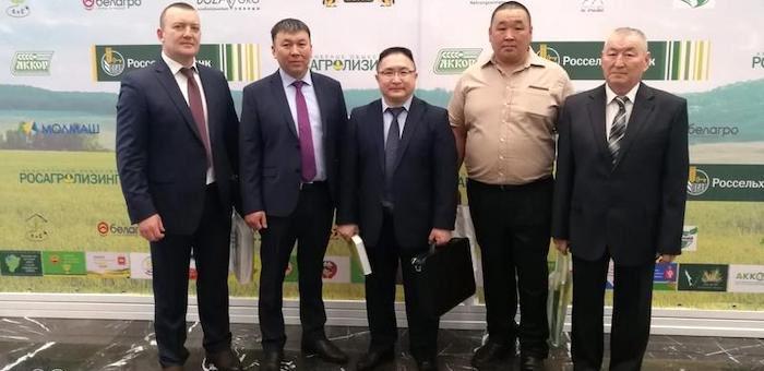 Делегация Горного Алтая побывала на юбилейном съезде фермеров в Москве