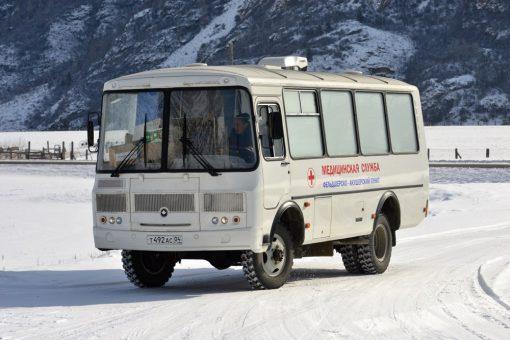 Передвижной ФАП объезжает малые населенные пункты Онгудайского района