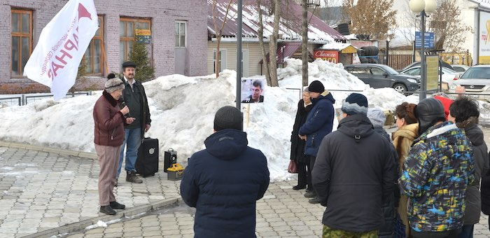 «Мы любим и обожаем его»: в Горно-Алтайске предложили назвать улицу именем Бориса Немцова