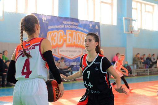 В Республике Алтай прошел региональный этап чемпионата Школьной баскетбольной лиги