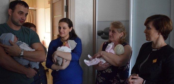 В Горно-Алтайске родилась тройня