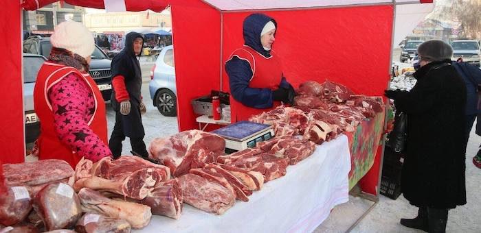 Почти 20 тонн мяса купили посетители республиканской ярмарки