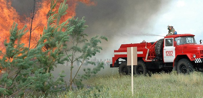28 единиц противопожарной техники закупит республика в рамках нацпроекта «Экология»