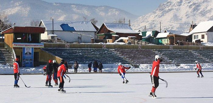В Онгудайском районе прошел турнир по хоккею с мячом памяти Евгения Корчагина