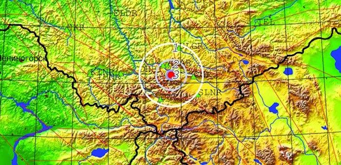 Землетрясение произошло около Акташа