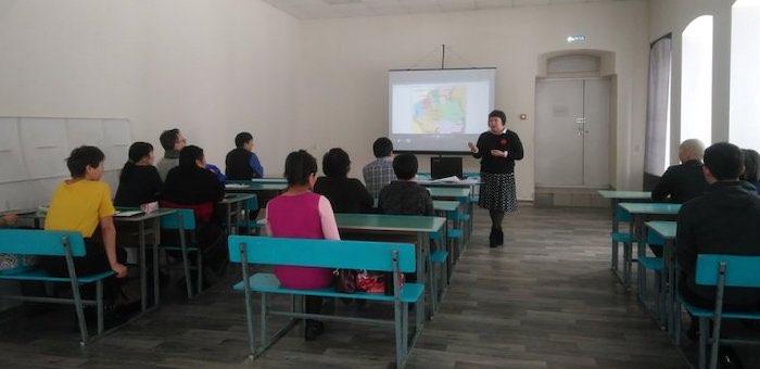 Научно-популярная лекция «Языки коренных народов Алтая» прошла в ГАГУ