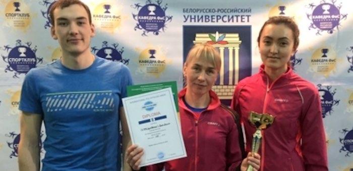 Сборная ГАГУ стала серебряным призером I этапа Кубка мира по зимнему полиатлону