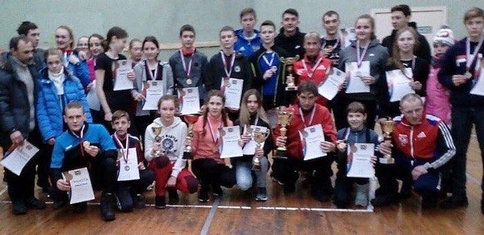Команда ГАГУ победила в первенстве по зимнему полиатлону в Томске
