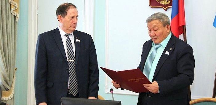 Лидер коммунистов Республики Алтай отмечает юбилей