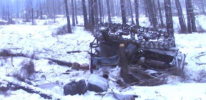 На заготовке древесины погиб тракторист, на которого рухнул ДТ-75