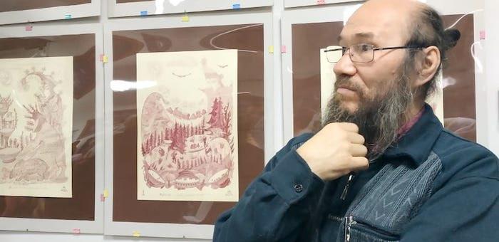 Выставка Николая Чепокова открылась в Доме дружбы народов