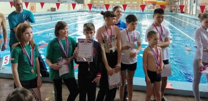 Три спортсмена из Горного Алтая стали призерами соревнований по плаванию среди детей-инвалидов