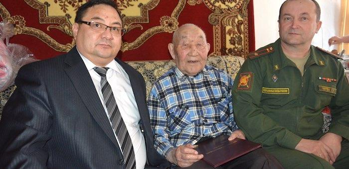 Ветеран из Кулады отметил 94-й день рождения