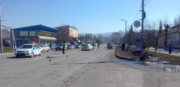 7-летний мальчик сбит машиной в Горно-Алтайске