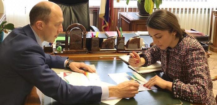 Первые шаги на новом посту: Олег Хорохордин встретился с главой Ростуризма