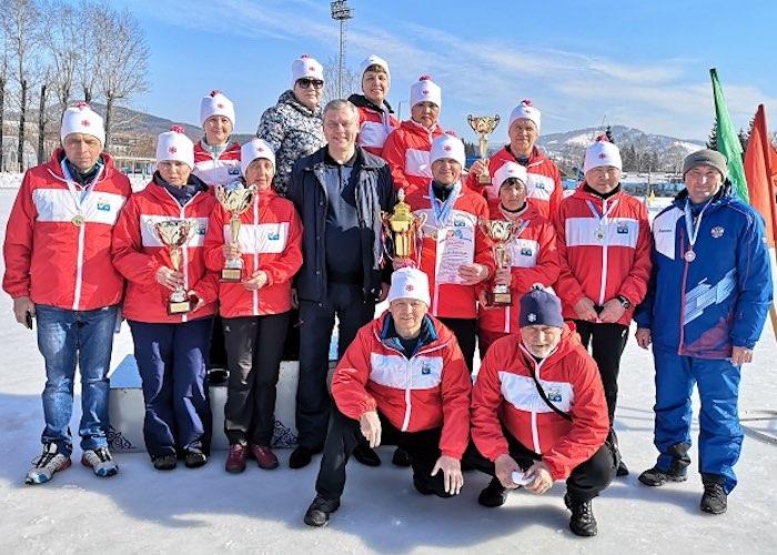 В зимней спартакиаде ветеранов лидировали команды Горно-Алтайска, Кош-Агача и Онгудая