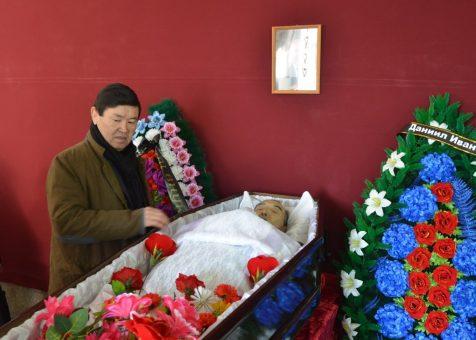 В Горно-Алтайске простились с Даниилом Табаевым