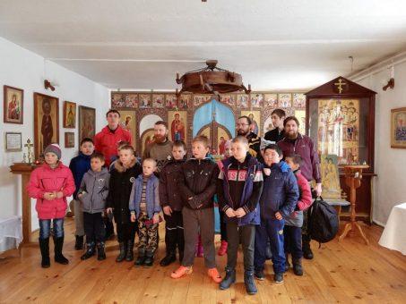 В селе Черга состоялась «Богатырская пробежка»