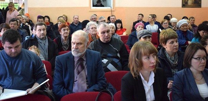 Сход жителей округа №4 прошел в Горно-Алтайске