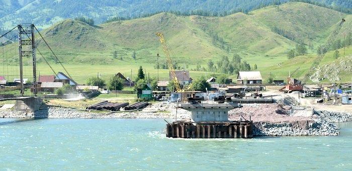 Республика получит 410 млн рублей на строительство моста в Тюнгуре