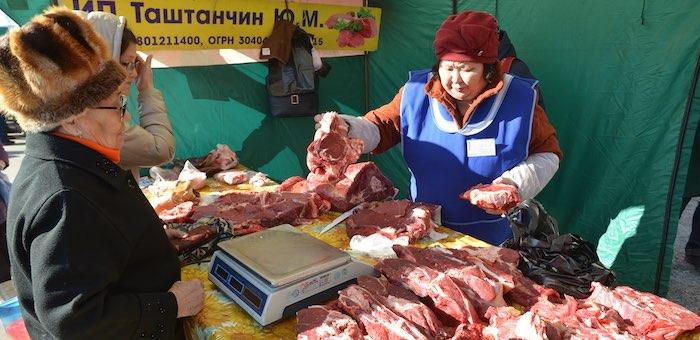 Свыше 16 тонн мяса продано на сельхозярмарке