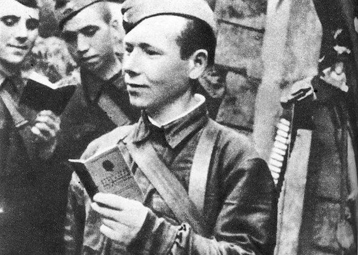 Боевое крещение комсорга Соболевского